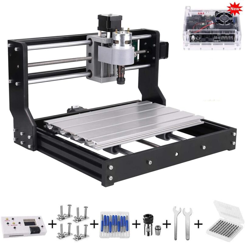 Beauty Star Upgrade Version CNC 3018 Pro - Best mini CNC router in 2021