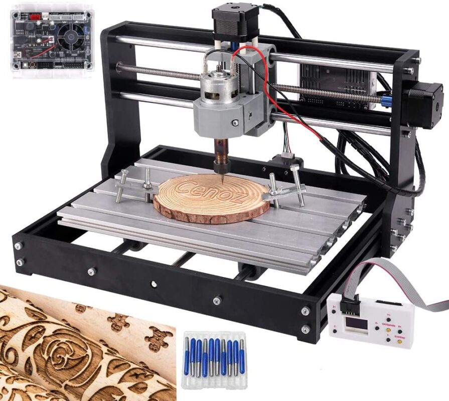Cenoz Upgrade CNC 3018 Pro - Best mini CNC router in 2021