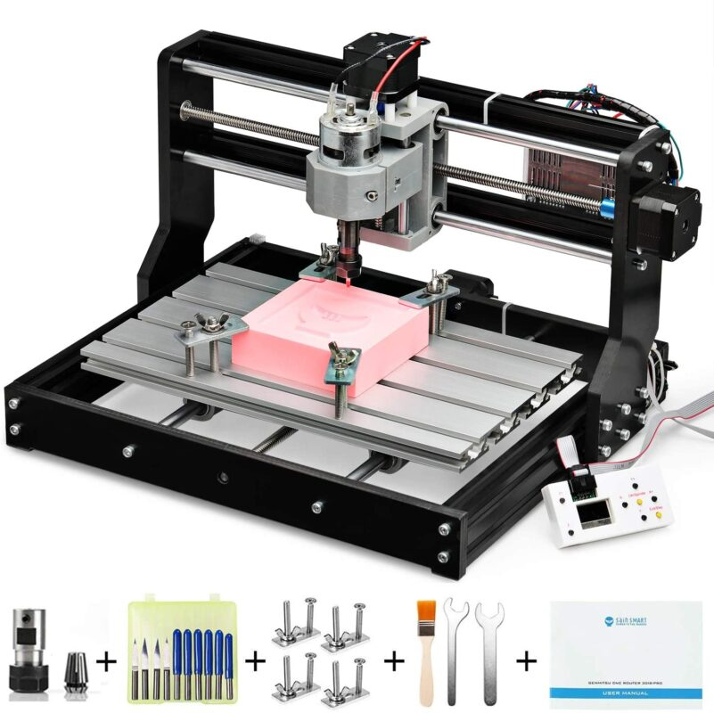 Genmitsu CNC Router 3018-PRO - Best mini CNC router in 2021