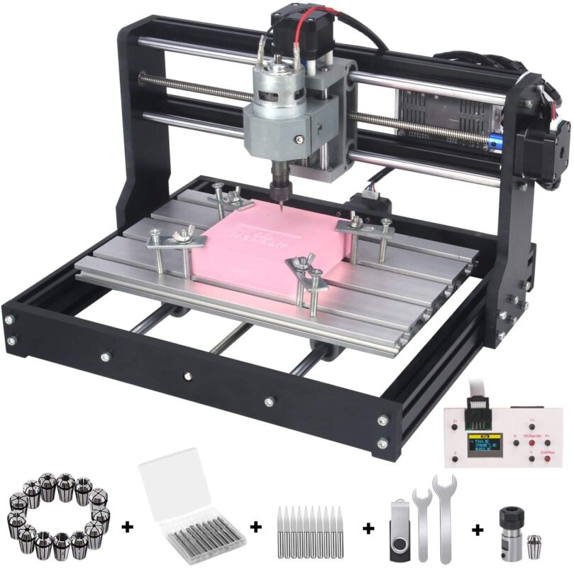 mcwdoit Upgrade Version CNC 3018 Pro - Best mini CNC router in 2021