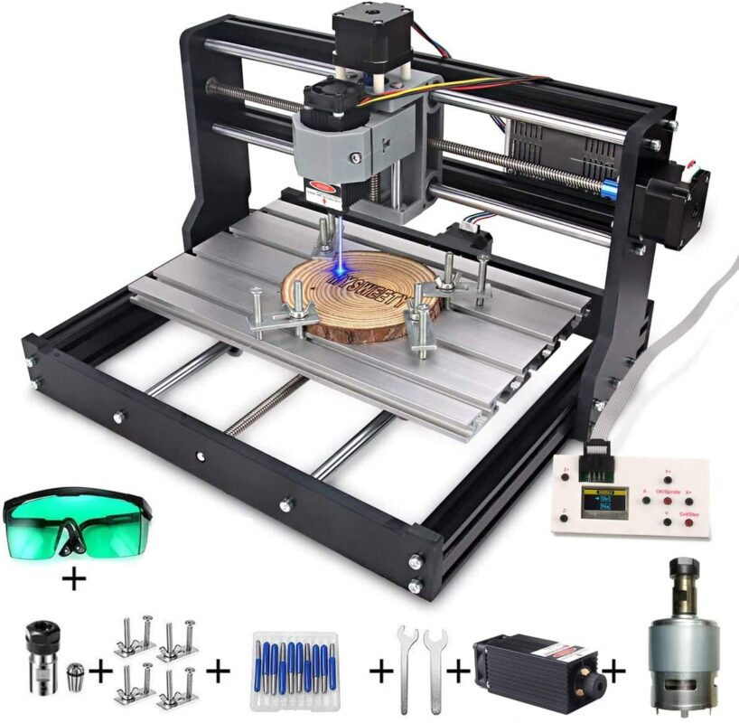 MYSWEETY DIY CNC 3018-PRO - Best mini CNC router in 2021