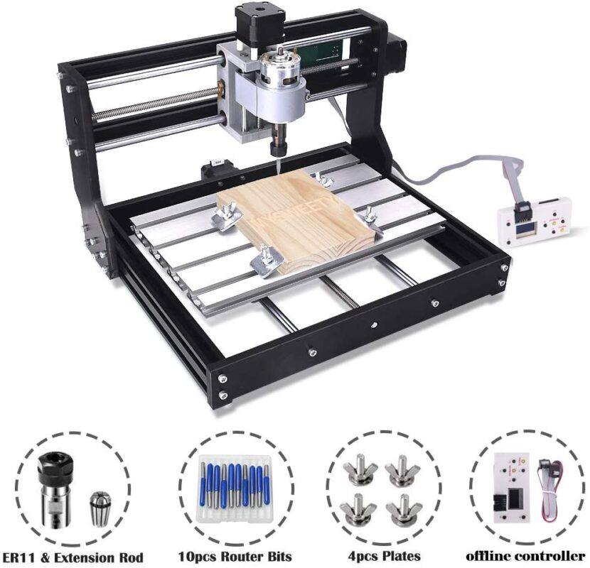MYSWEETY Upgrade Version CNC 3018 Pro - Best mini CNC router in 2021